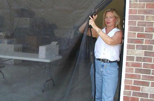 Garage Door Fresh Air Screens